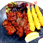 焼き肉海老フライ1,650円